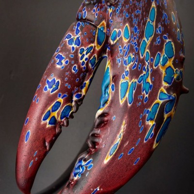 Glass Sculpture by Kelly O'Dell