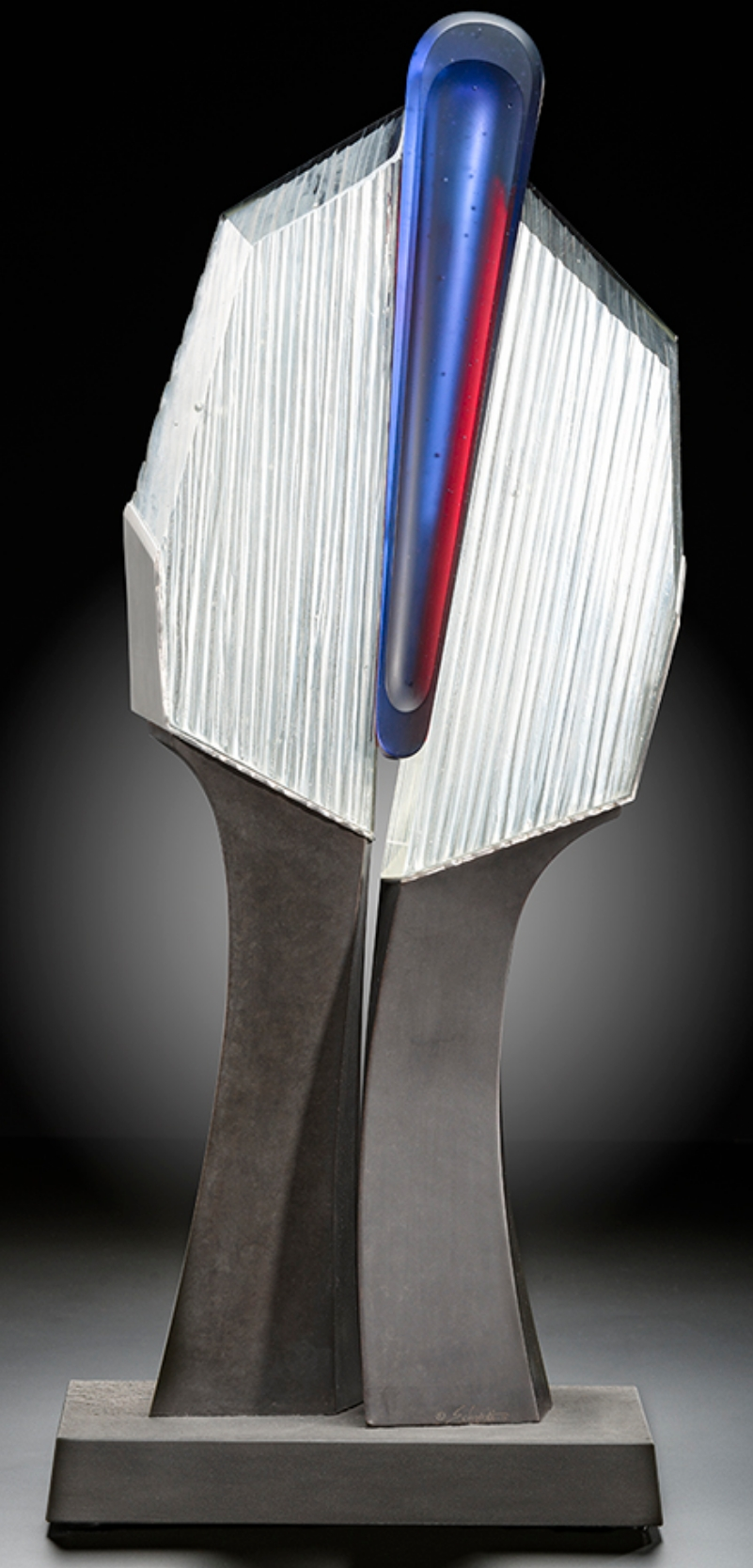 Mixed-media sculpture by artist Jack Schmidt