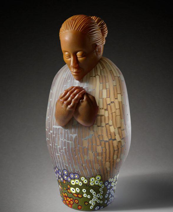 Ross Richmond glass art at Habatat Galleries