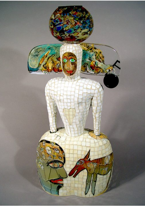 Robert Palusky glass and ceramic art at Habatat Galleries Florida