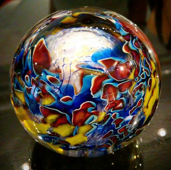 Robert Palusky glass art at Habatat Galleries Florida