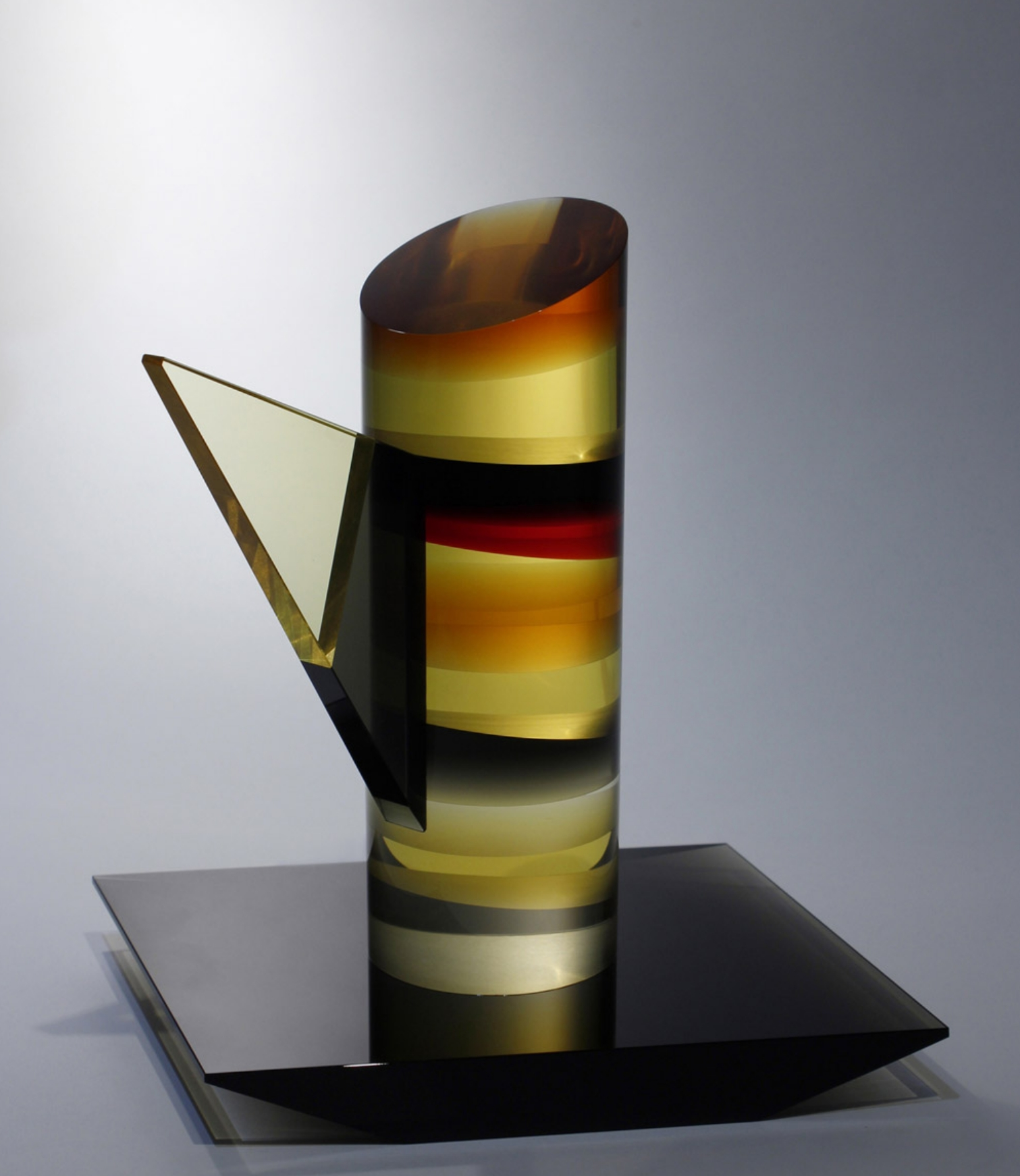 Glass art by Petra Hrebackova