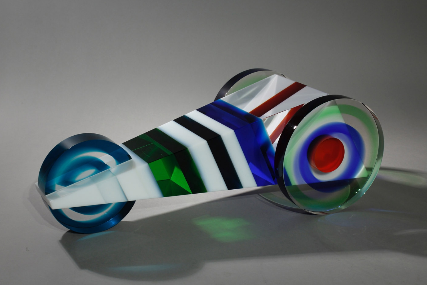 Glass sculpture by Petra Hrebackova