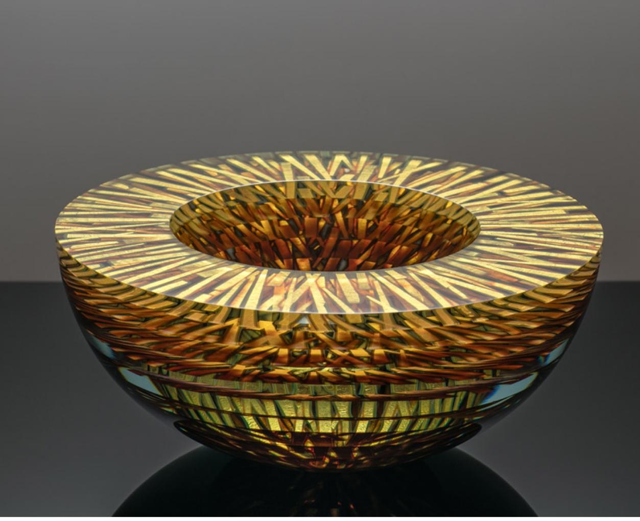 Glass art by Tomas Hlavicka