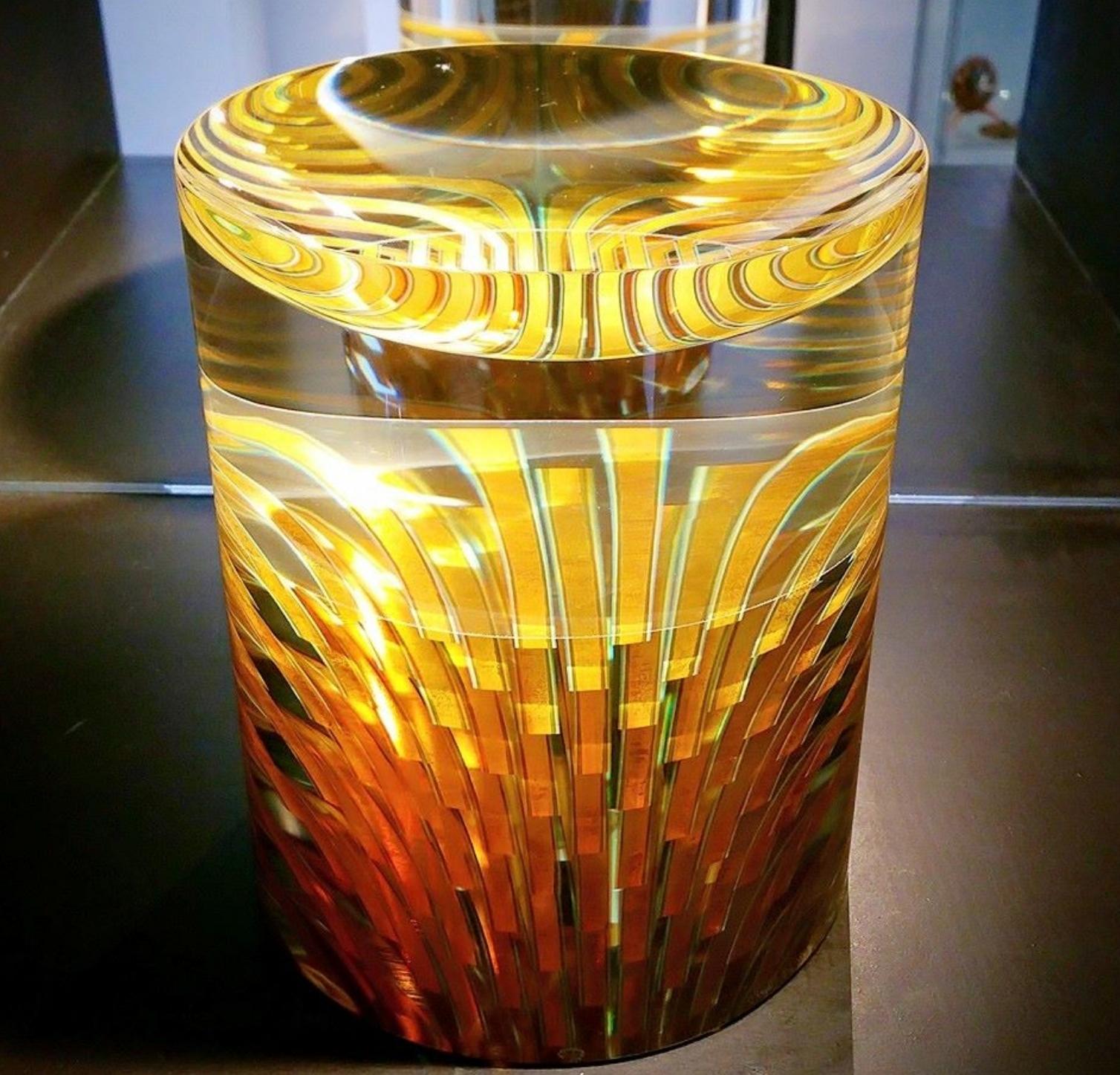 Glass art by Czech artist Tomas Hlavicka