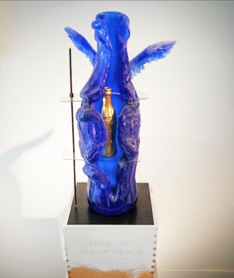 Clifford Rainey glass sculpture