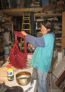 Wendy Saxon-Brown Working