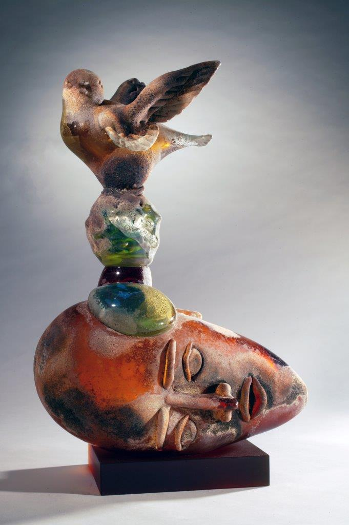 Richard Jolley glass art at Habatat Galleries