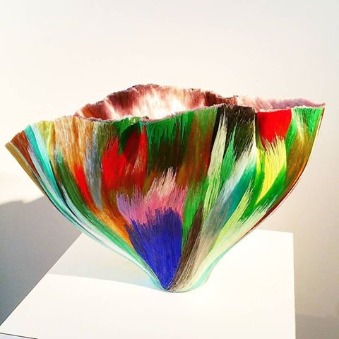 Glass art by Toots zynsky