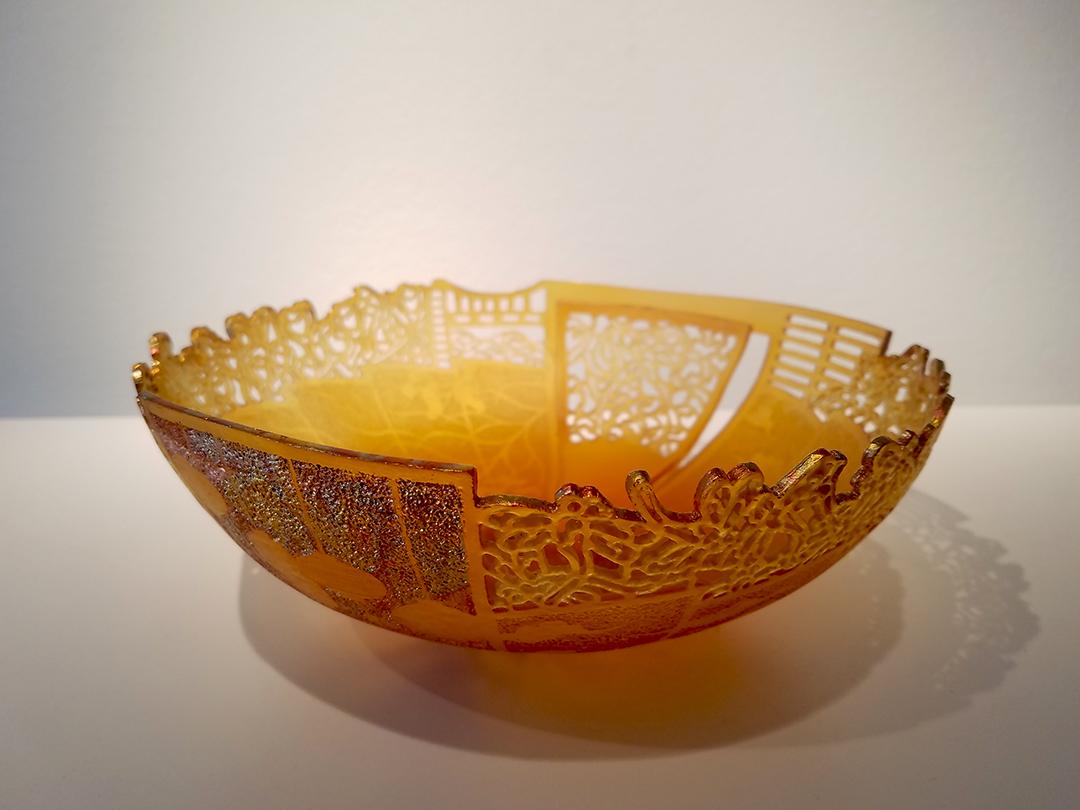 Binh Pho glass art at Habatat Galleries Florida