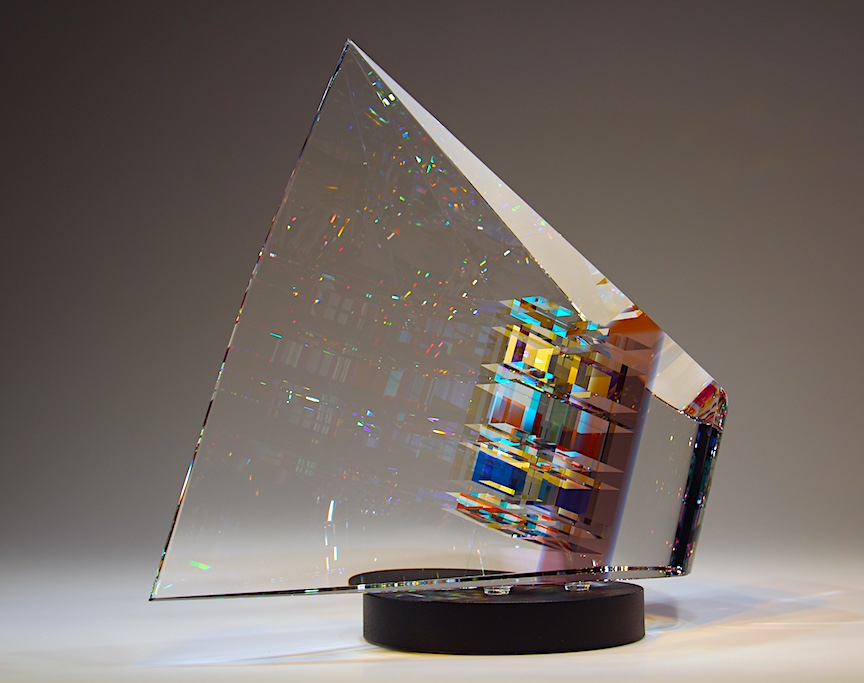 Jack Storms glass sculpture