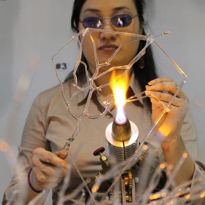Eunsuh Choi glass artist