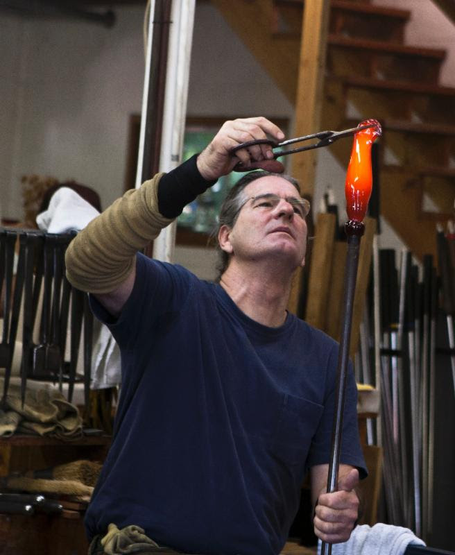 Richard Jolley glass artist