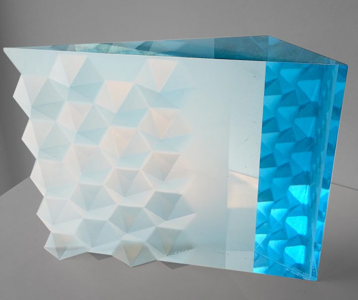 Vladimira Klumpar cast glass art at Habatat Galleries