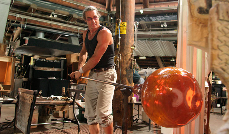 William Morris glass artist