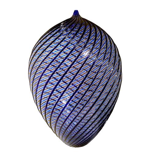 Blown glass vessel by Italian artist Lino Tagliapietra