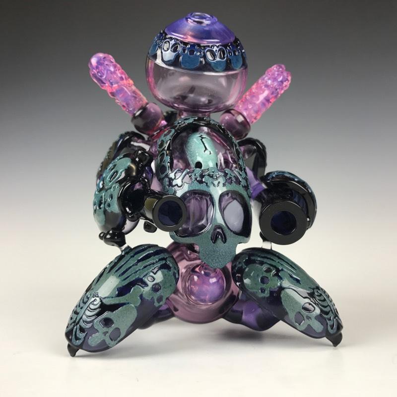 Brandon Martin glass sculpture