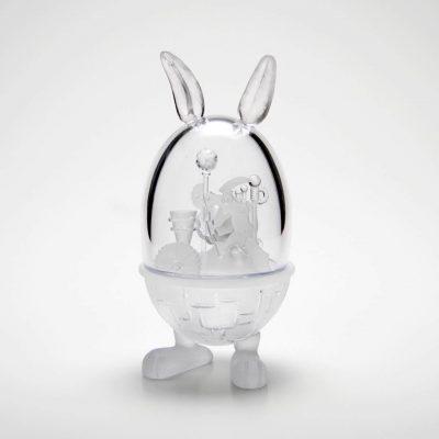 Kazumi Ohno glass sculpture