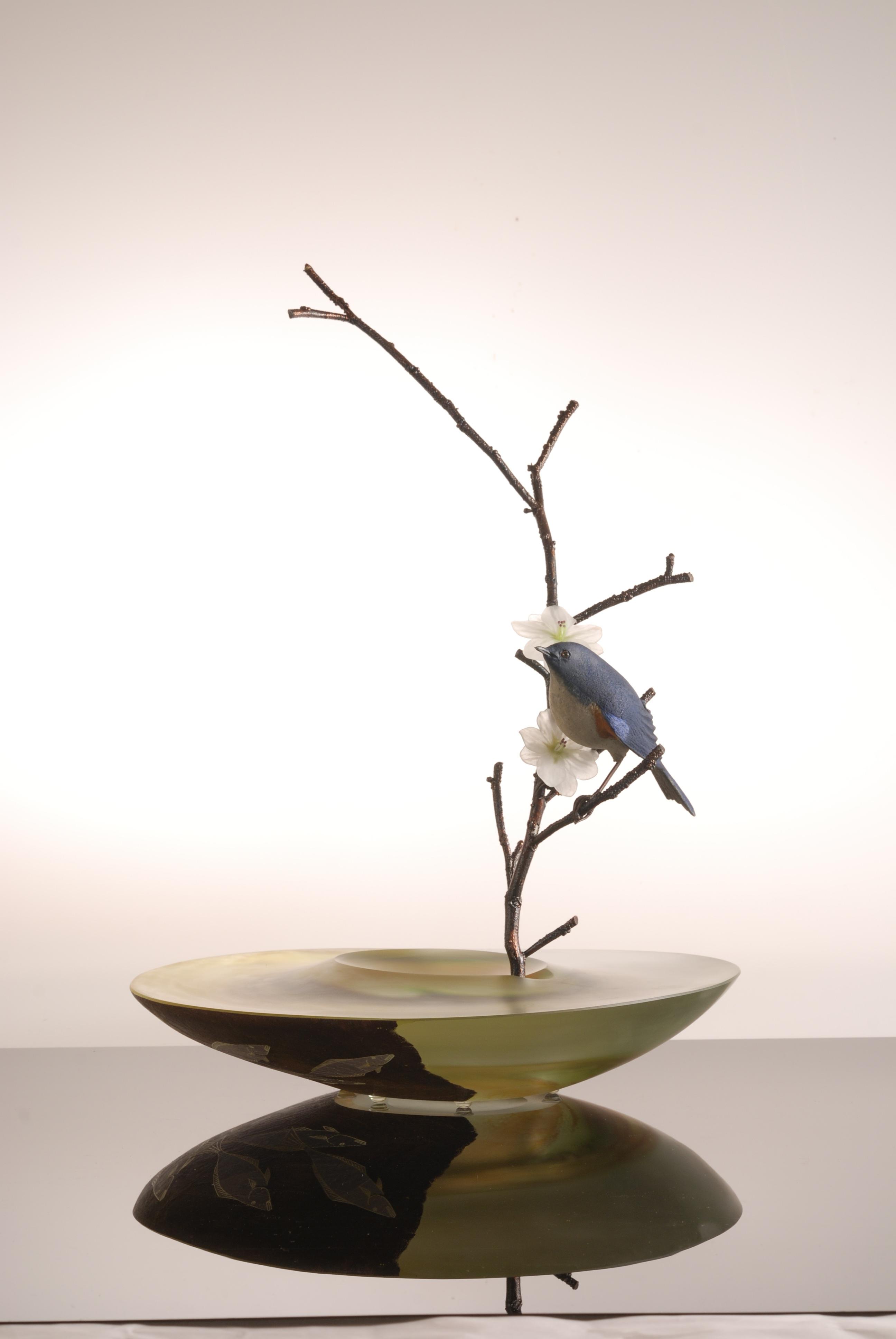 Glass art by Hiroshi Yamano