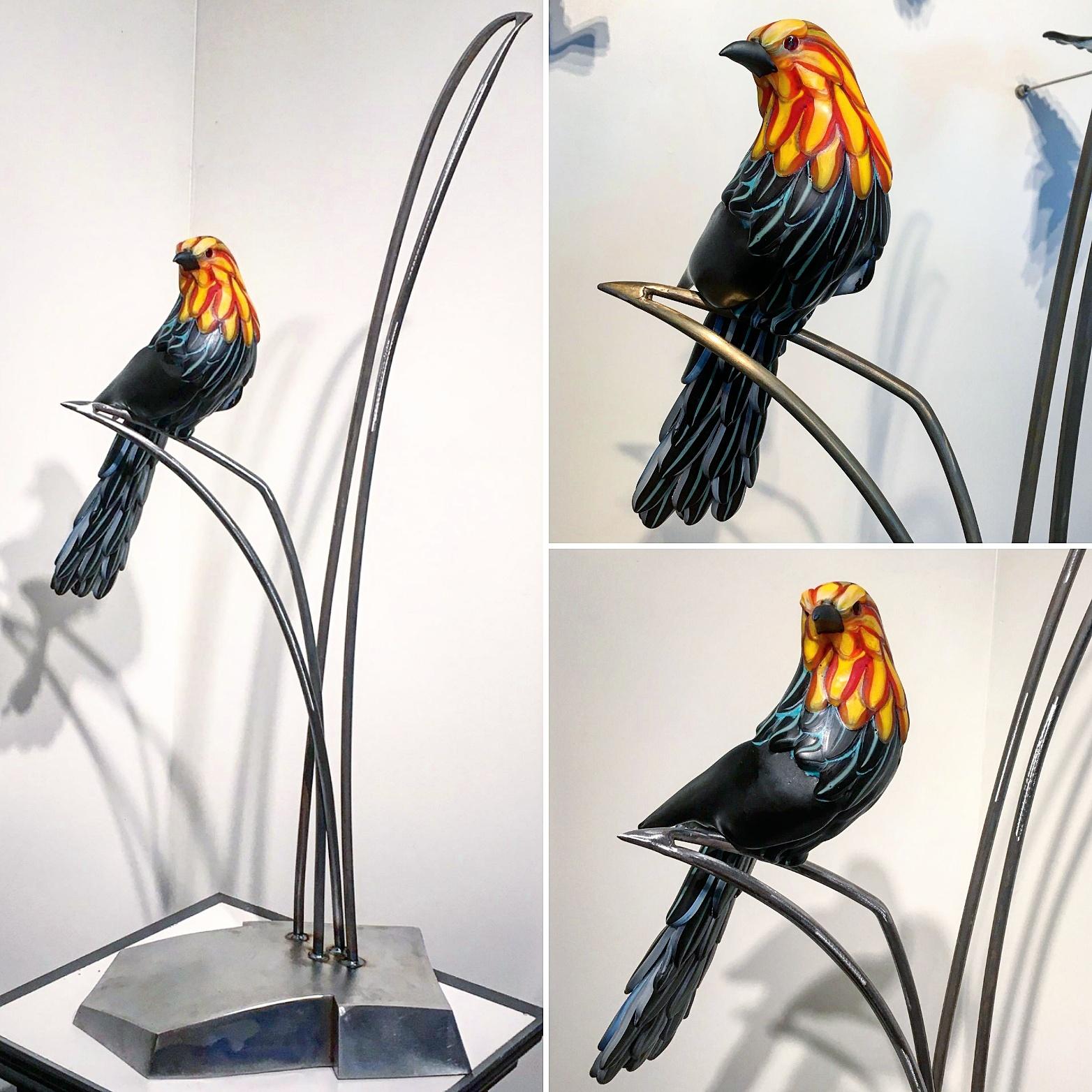 Karen Willenbrink-Johnsen Glass art