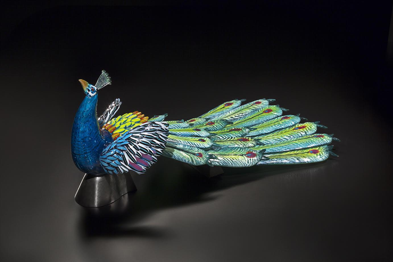 Karen Willenbrink-Johnsen glass art available at Habatat Galleries