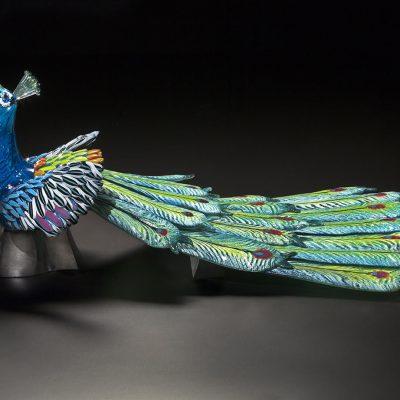 Hot sculpted glass by Karen Willenbrink-Johnsen