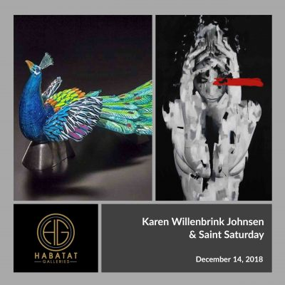 Karen Willenbrink Johnsen and Saint Saturday at Habatat Galleries