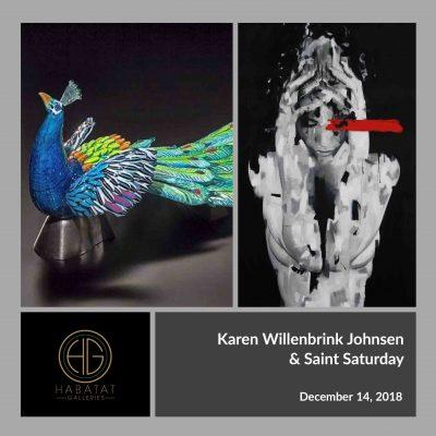 Karen Willenbrink Johnsen and Saint Saturday at Habatat Galleries