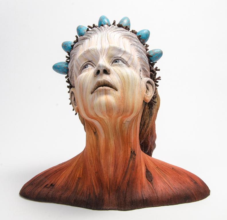 Figurative ceramic sculpture by Christopher David White