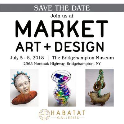 Habatat Galleries Florida at Market Art + Design Exhibit July 5-8, 2018