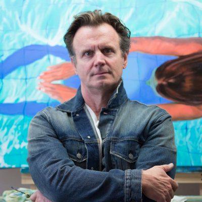 Oil painter Matt Story