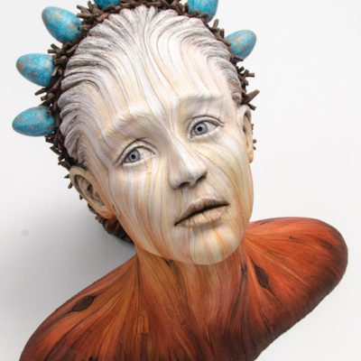 Figurative ceramic sculpture by Christopher David White