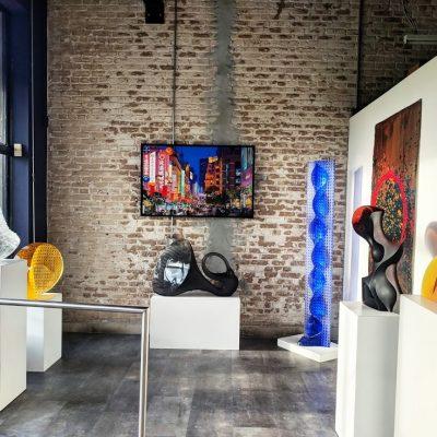 Interior shots of Habatat Galleries FL