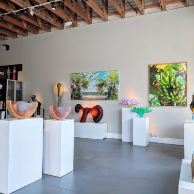 Interior view of habatat galleries in FL