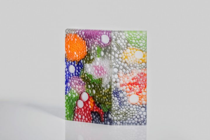 glass sculpture by Robert Comploj available at Habatat Galleries