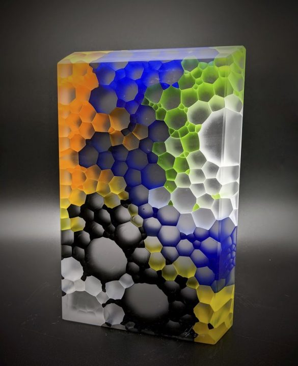 Robert Comploj glass art