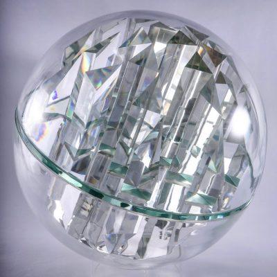 Pavel Hlava glass sculpture