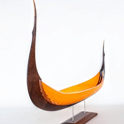 glass sculpture by Backhaus-Brown Egevaerk