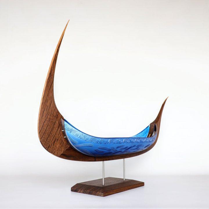 glass sculpture by Backhaus-Brown Egevaerk