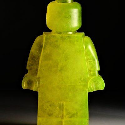 Hannah Gibson glass sculpture