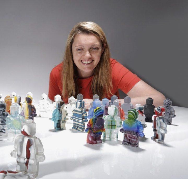 glass artist Hanna Gibson
