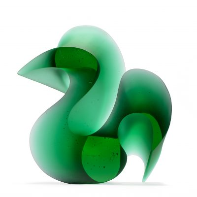 Karin Mørch glass sculpture