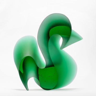 Karin Mørch glass sculpture