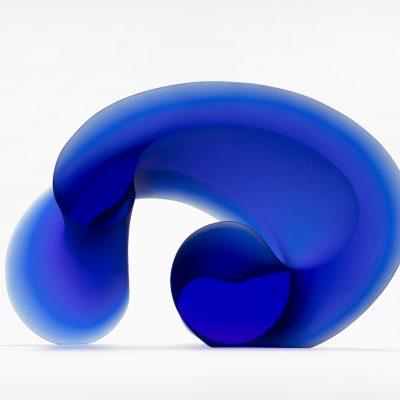 Karin Morch glass sculpture