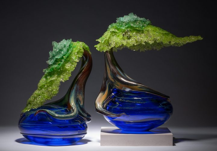 glass art by Eli Cecil available at Habatat Galleries