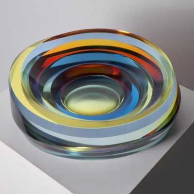 Glass sculpture by Jaroslav Prosek
