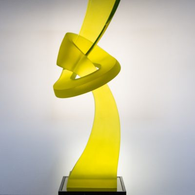 Jaroslav Prosek glass sculpture