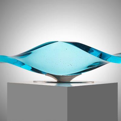 Glass sculpture by Vlastimil Beranek