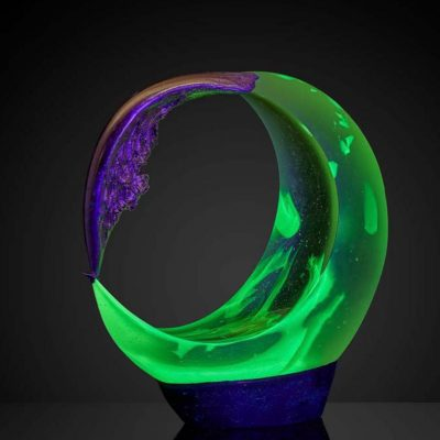 ela Smrcek fine art sculpture made from glass