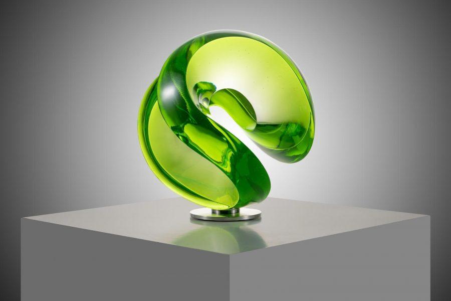 Vlastimil Beranek glass sculpture